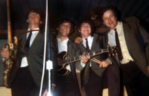 From left: Lanny Roenicke, Dick Wagner, Pete Woodman, Warren Keith